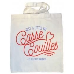 "Tote-bag ""Casse couilles"""