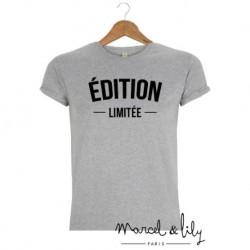 T-Shirt Edition limitée gris - L