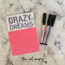 """Carnet """"Crazy dreams"""""""