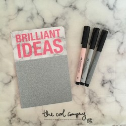"Carnet ""Brilliant ideas"""