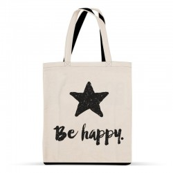 "Tote-bag ""Be happy"""