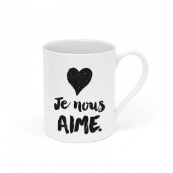 """Mug """"Je nous aime"""""""