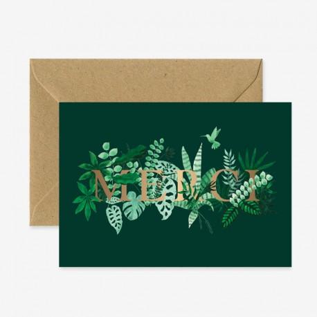 Carte Merci letters
