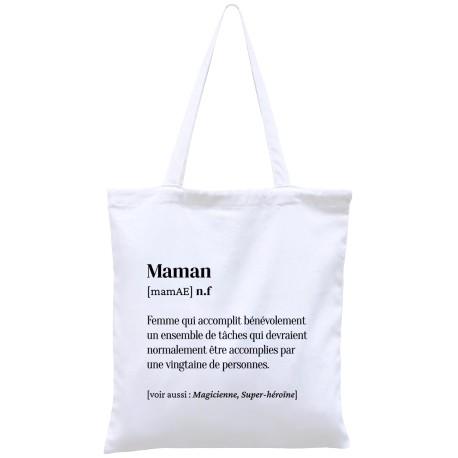 Tote-bag définition Maman