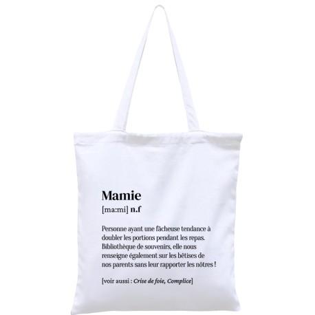 Tote-bag définition Mamie