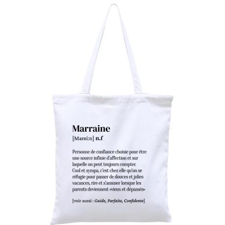 Tote-bag définition Marraine