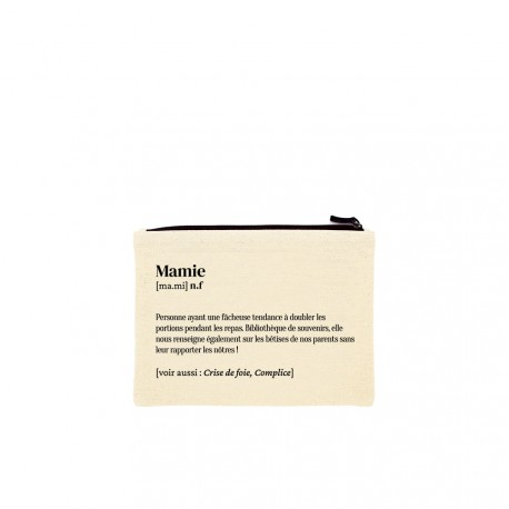 Trousse définition Mamie