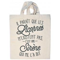 """Tote-bag """"Licorne"""""""