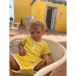 Combinaison Sponge kid - Jaune 6/9 mois