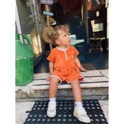 Combinaison Sponge kid - Terracotta 6/9 mois