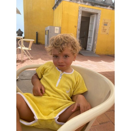 Combinaison Sponge kid - Jaune 12/18 mois