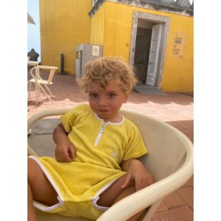 Combinaison Sponge kid - Jaune 9/12 mois