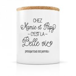 Bougie parfumée Chez Mamie et papy