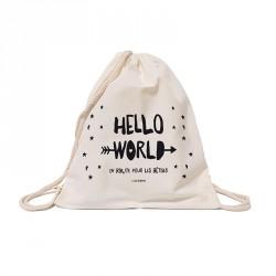 Sac à dos Hello world