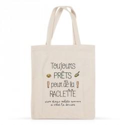 Tote bag Raclette