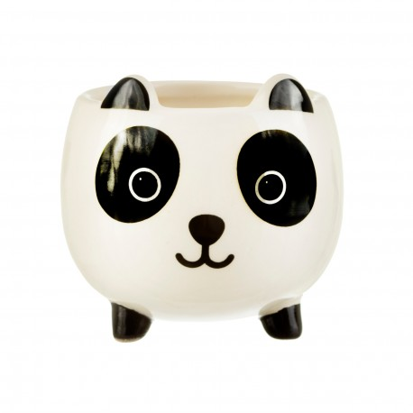 Mini pot de fleurs panda