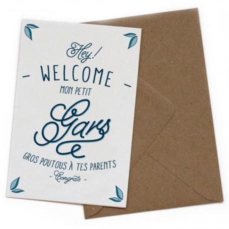 "Carte postale ""Petit gars"""