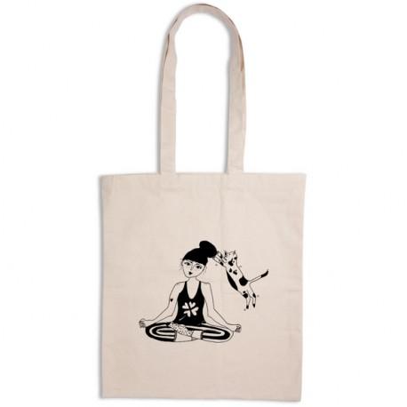 Tote-bag Fille zen