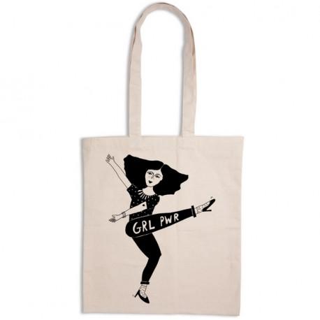 Tote-bag Girl power