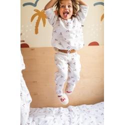 Pyjama 2 pièces en lange Bisou 4/5 ans