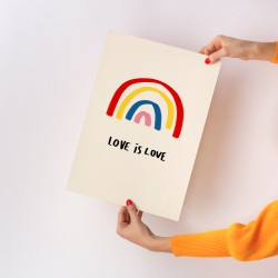 Affiche Love is love