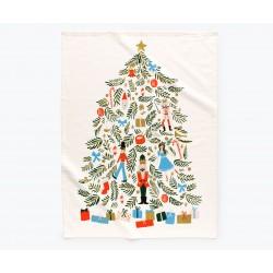 Torchon Christmas tree