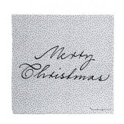"""Serviettes en papier """"Merry Christmas"""""""
