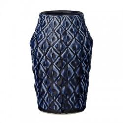 Vase bleu profond
