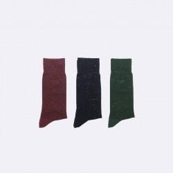 Trio de chaussettes mouchetées 42/45