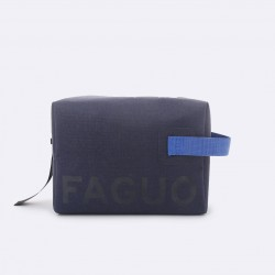 Trousse de toilette waterproof marine et bleue