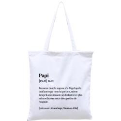 Tote-bag définition Papi