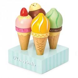 Jeu en bois - Crèmes glacées