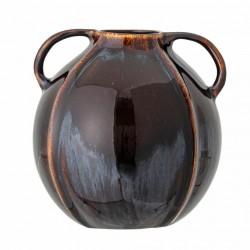 Vase boule brown deux poignées