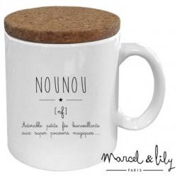 Mug avec couvercle - Nounou définition