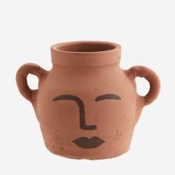 Vase décoratif en terre Clay