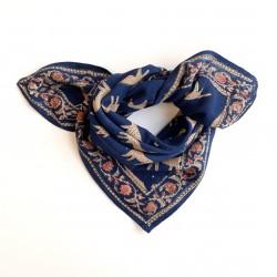 Baby foulard manika Bengale - minuit