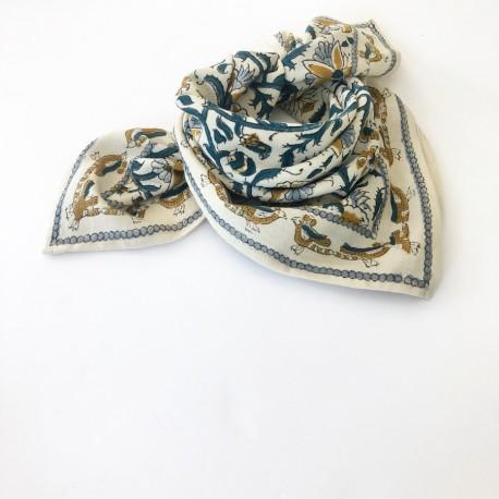 Baby foulard manika Bird - sable