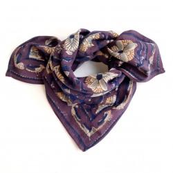 Baby foulard manika Bird - Prune