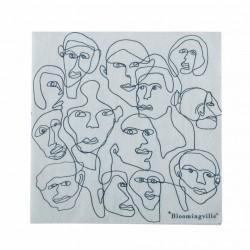 Serviettes en papier Petits visages