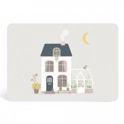 Carte Maison d'automne