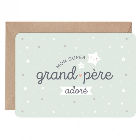 Carte Super grand-père