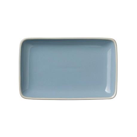 """Assiette rectangulaire """"Winter blue"""""""