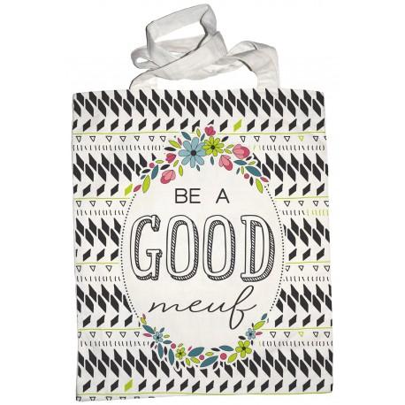 "Tote-bag ""Be a good meuf"""