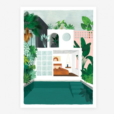 Affiche Guesthouse Large