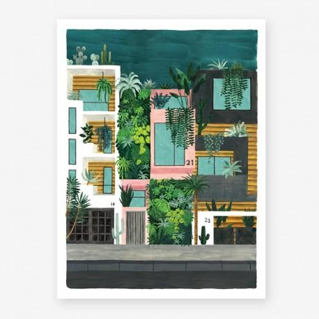 Affiche Large Buildings