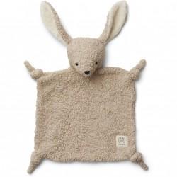 Doudou pilou - Rabbit pale grey