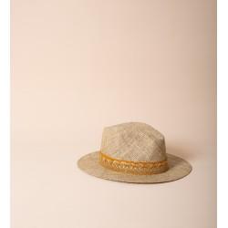 Chapeau Panama Doré