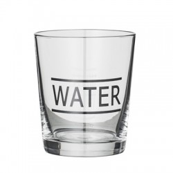 "Verre à eau ""Water"""