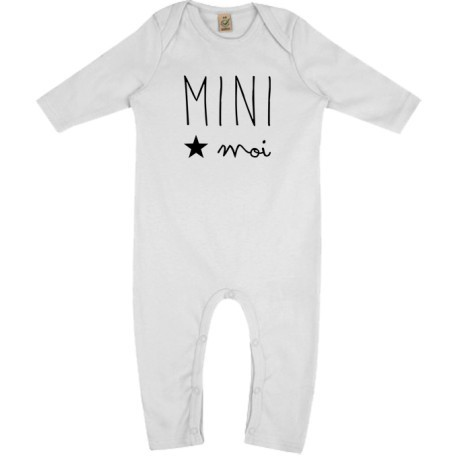 Grenouillère Mini Moi - 3/6 mois