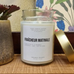 Bougie Fraicheur matinale - 500 g